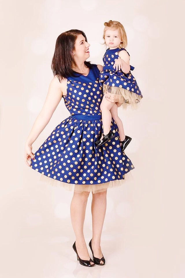 Pretty Party Dress - Mommy and Me Party Dress Pattern