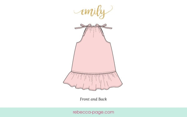 Very simple and easy to sew, this girls pillowcase dress sewing pattern is suitable from beginner sewing level upwards. A great starter sewing project.