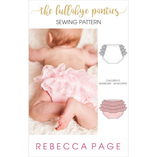 This PDF sewing pattern and instructions are for a lace ruffled diaper cover for your baby or toddler. Cute bloomers keep your child's diaper tucked up.