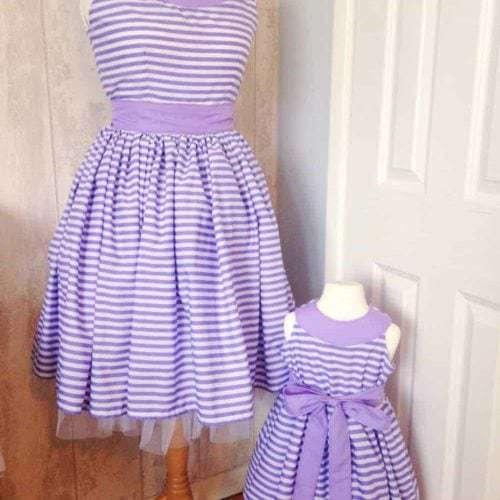 Ladies party dress PDF sewing pattern