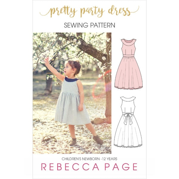 This simply lovely party dress is everything the name promises: prettiness for days! It has many options allowing you to dress it up for party season, or dress it down for more casual wearing (it does make a rather delightful sun dress!).