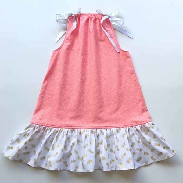 Girls Pillowcase Dress Sewing Pattern