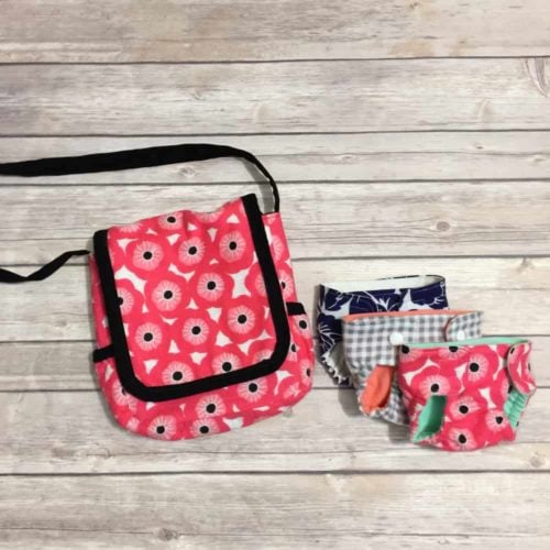 Dollies Diaper and Diaper Bag