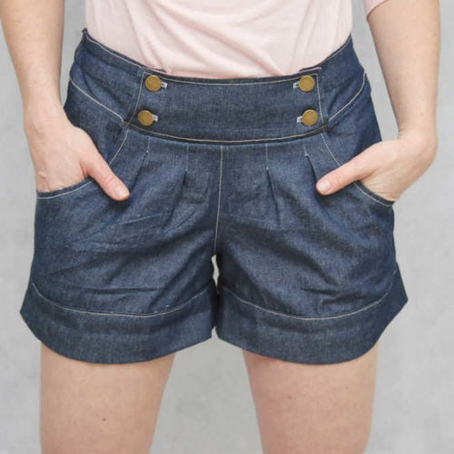 Berry Bubble Shorts Ladies COVER
