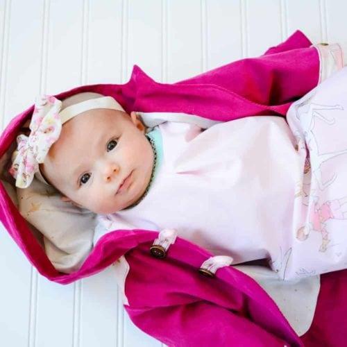 Patrons de couture pour bébés 0-24 mois