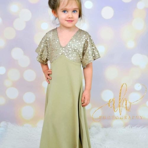 The Portia Party Dress FULL Version - Girls Sewing Pattern - Rebecca ...