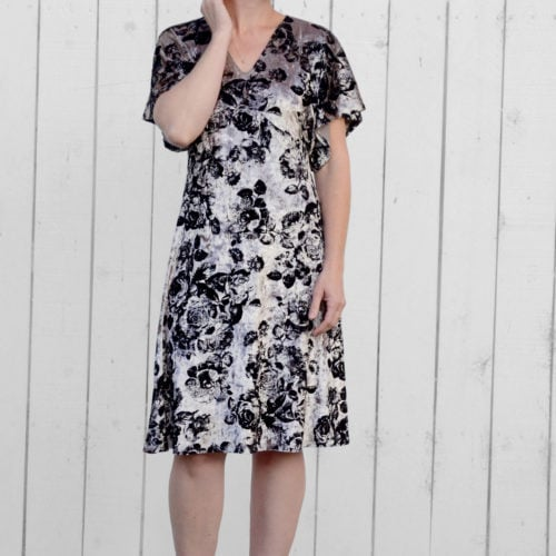 Lades Free Portia Party Dress Pattern - Rebecca Page