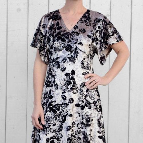 Lades Free Portia Party Dress Pattern Rebecca Page