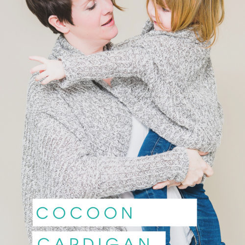Bundle The Cora Cocoon A Cocoon Cardigan Sewing Pattern
