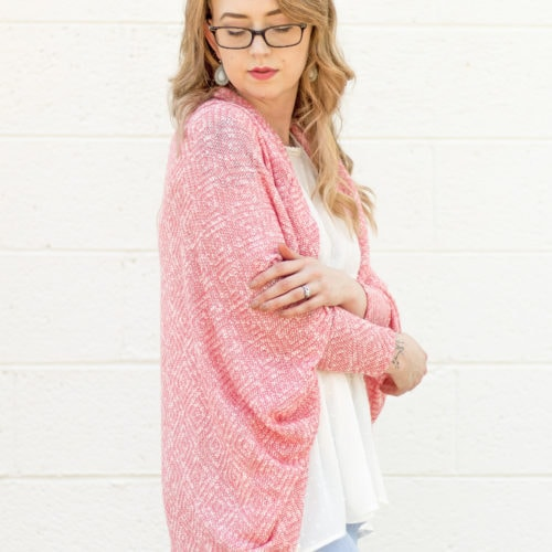 The Cora Cocoon A Ladies Cocoon Cardigan Sewing Pattern