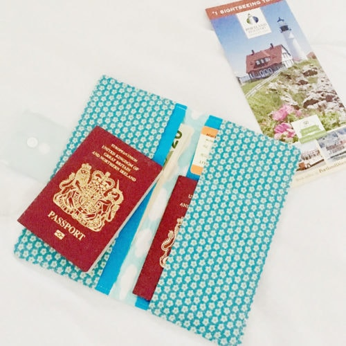 Free Family Passport Wallet Sewing Pattern Rebecca Page