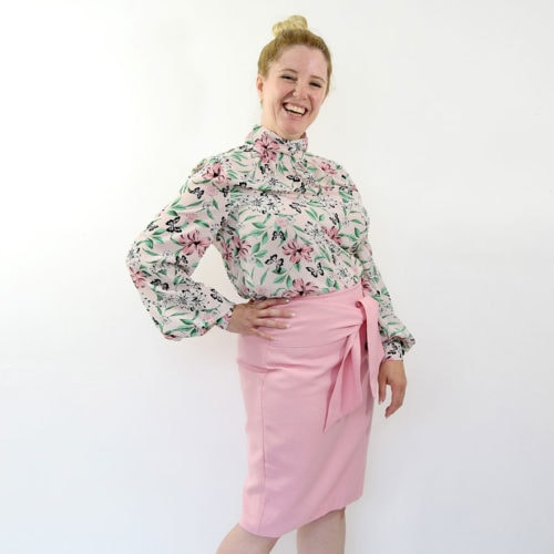 Womens pencil skirt sewing pattern