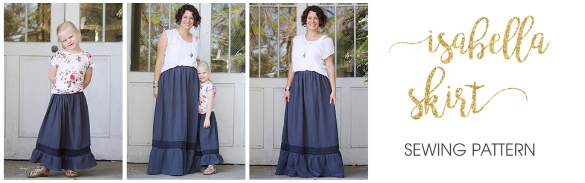 Isabella Skirt Sewing Pattern