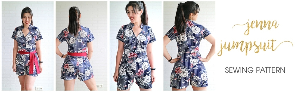 Jenna Jumpsuit Sewing Pattern