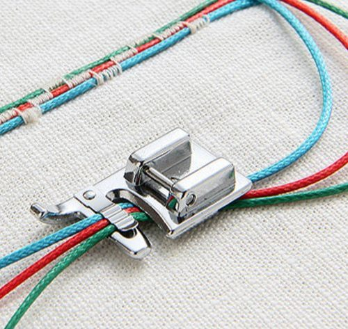 3-Cord Cording Foot for Low Shank Sewing Machines.  A great sewing basic for any and every sewista