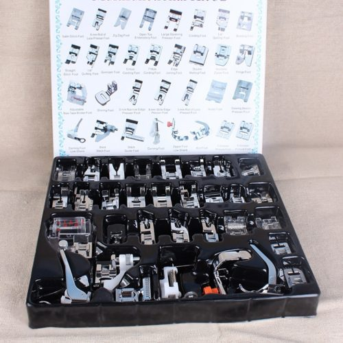 32-Piece Presser Foot Set. A great sewing basic for any and every sewista