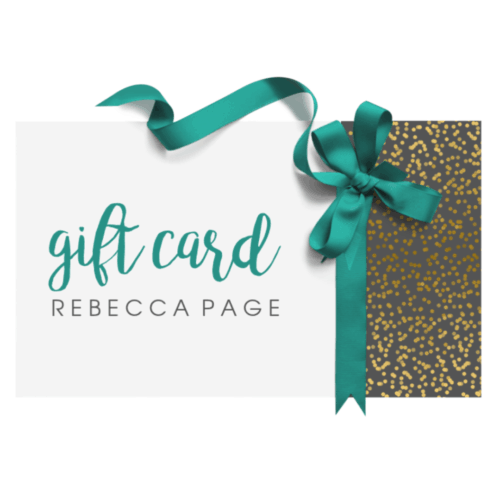 Give the gift of choice with a Rebecca Page e-gift card!