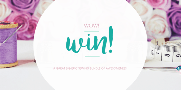 We are celebrating a milestone with a Great Big Epic Sewing Competition! You could win a super awesome sewing bundle of awesomeness by entering!
