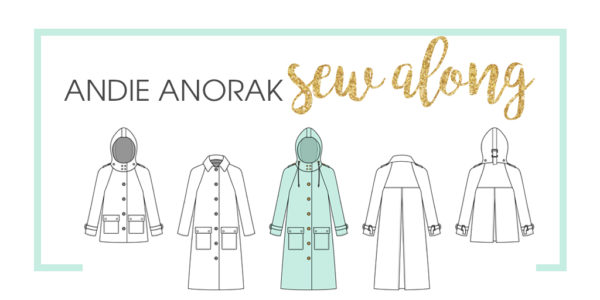 Come join us for a sew along! Over 10 days, we will be working our way through the Andie Anorak and we would love for you to join us!