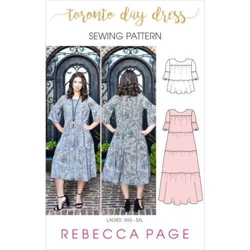 Rebecca Page - PDF Sewing Patterns for ladies, children and